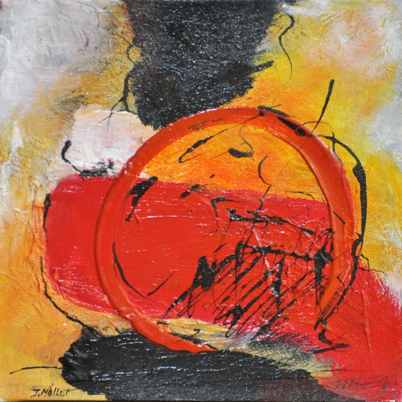 Sunrise : Impression 30cms x 30cms