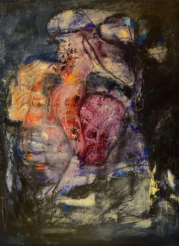 Exhibition Neauphle - le - Château Paris 2017 First prize for both paintings Ol on linen 95 X 120 cm